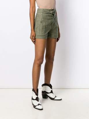 Frame slim-fit utility shorts