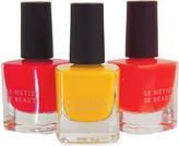 LeMetier de Beaute Le Metier de Beaute Limited-Edition Nail Lacquer, Not So Safe Orange