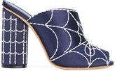 Marco De Vincenzo embellished satin sandals - women - Leather - 38