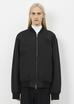 Dries Van Noten black volker reversible jacket