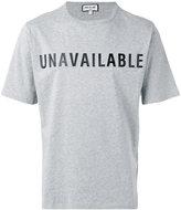 Paul & Joe Unavailable T-shirt - men - Cotton - XL