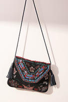 Anthropologie Larache Embellished Crossbody Bag