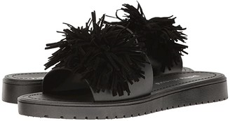 Chinese Laundry Paseo Jelly Pool Slide (Black) Women's Sandals