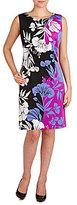 Peter Nygard Petite Floral Sloane Sheath Dress