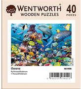 Wentworth Puzzles Wentworth Wooden Puzzles Oceana Mini Jigsaw Puzzle, 40 pcs