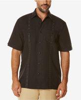 Cubavera Men's Short-Sleeve Embroidered Pattern Shirt