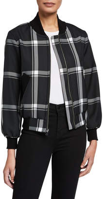 Milly Prepster Check Bomber Jacket