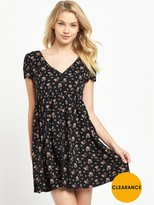 Denim & Supply Ralph Lauren Ralph Lauren Button Front Floral Dress - Sandford Floral