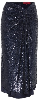 Sies Marjan Kayla sequined midi skirt