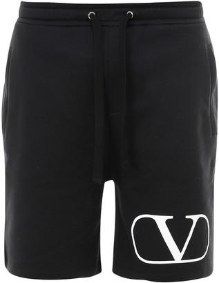 Valentino Logo Shorts