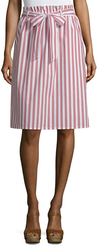 Liz Claiborne Womens High Waisted A-Line Skirt