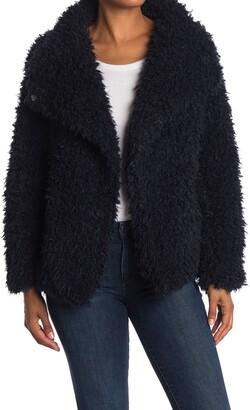 Love Token Cassandra Shaggy Faux Fur Jacket