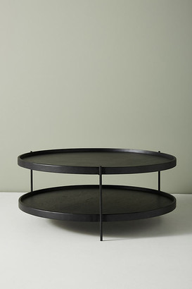 Anthropologie Noir Tiered Coffee Table By in Black Size L