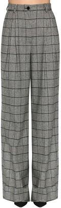 Dolce & Gabbana Wide Leg Prince Of Wales Pants