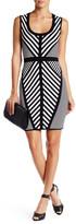 Dex Sleeveless Striped Sweater Dress