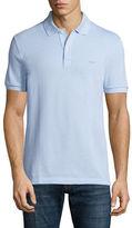 Lacoste Birdseye Short-Sleeve Pique Polo Shirt