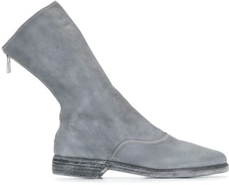 Guidi Sling-Back Ankle Boots