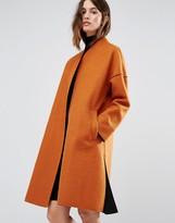 Warehouse Bonded Contrast Coat