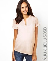Asos Exclusive T-Shirt in Neppi with Placket