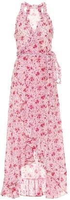 Poupette St Barth Tamara floral cotton midi dress