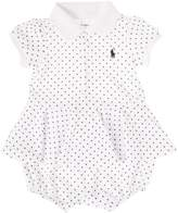 Polo Ralph Lauren Baby Girls Polkadot Bubble Dress