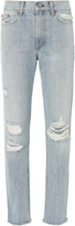 Rag & Bone Marilyn High-Rise Straight Jeans