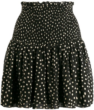 Ganni Polka-Dot Skirt