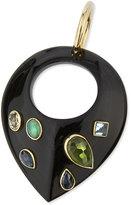 Ashley Pittman Kuangusha Jeweled Dark Horn Pendant
