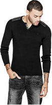 G by Guess GByGUESS Men's Kamden Ribbed Sweater