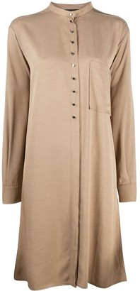 8pm Button-Down Shirt Dress