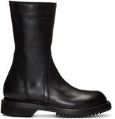 Rick Owens Black Creeper Boots
