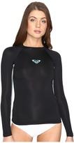 Roxy XY Long Sleeve Surf Tee Rashguard Women's Swimwear
