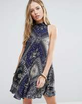 Free People Printed Beau Dress