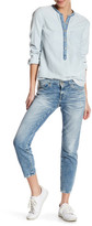 Big Star Alex Mid Rise Ankle Skinny Jean