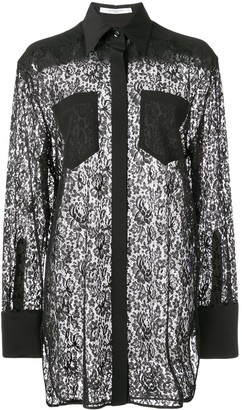 Givenchy lace shirt
