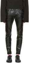 DSQUARED2 Black Coated Clement Jeans
