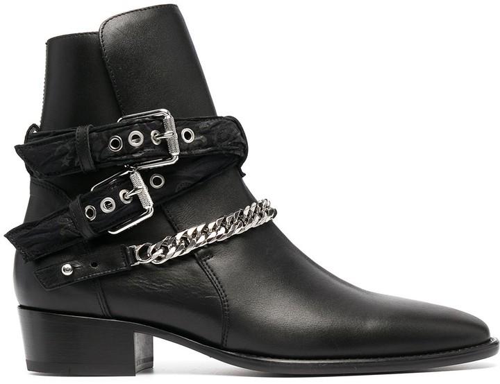 Amiri Chain Detail Boots