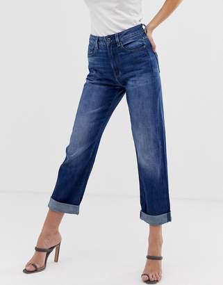 G Star G-Star 3301 baggy boyfriend jeans-Blue