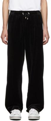 Balmain Black Velvet Lounge Pants
