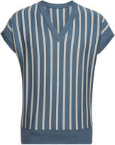 Jacquemus Knit Cotton Striped Vest Top