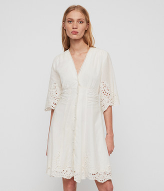 AllSaints Una Broderie Dress
