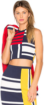 Tommy Hilfiger TOMMY X GIGI Patchwork Top in Navy. - size L (also in )
