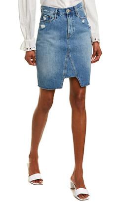 Frame Tri-Panel Pencil Skirt