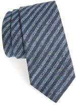Michael Bastian Men's Stripe Silk & Cotton Tie