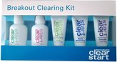 Dermalogica Clear Start Breakout Clearing Kit: Foaming Wash + Toner + Daytime Treatment + Moisturizer SPF 15 + Overnight Treatment