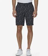 Nautica Classic-Fit Anchor Print Flat-Front Shorts