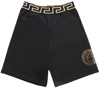 Versace Cotton Sweat Shorts