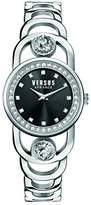 Versus By Versace Women's 'CARNABY STREET CRYSTAL' Quartz Stainless Steel Casual Watch, Color:Silver-Toned (Model: SCG160016)