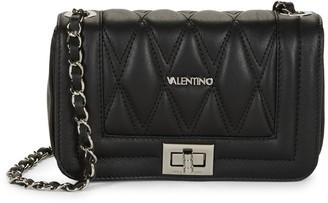 Mario Valentino Valentino By Beatriz D Leather Crossbody Bag
