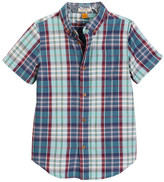 Tailor Vintage Short Sleeve Madras Plaid Shirt (Little Boys & Big Boys)